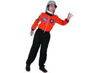 09395 - Šaty na karneval - kosmonaut, 130 - 140  cm
