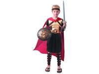 09532 - Šaty na karneval - gladiátor, 120 - 130 cm