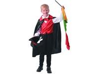 09622 - Šaty na karneval -  kouzelník, 120 - 130 cm