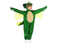 09709 - Šaty na karneval - dinosaurus, 80 - 92 cm