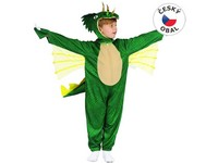 09710 - Šaty na karneval - dinosaurus, 92 - 104 cm