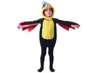 09720 - Šaty na karneval - tukan, 92 - 104 cm