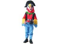 09722 - Šaty na karneval - papoušek, 92 - 104 cm