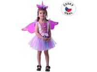 09742 - Šaty na karneval -  jednorožec, 92 - 104 cm