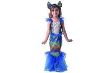 09747 - Šaty na karneval - mořská panna, 80 - 92 cm