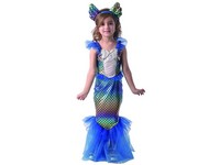 09748 - Šaty na karneval - mořská panna, 92 - 104 cm