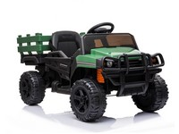 08514 - Dětské elektrické auto s nákladním prostorem, 12V, na dálkové ovládání, dva motory, MP3