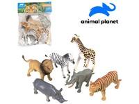 07514 - Zvířátka safari, 6 ks, 13,5 cm