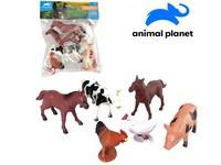 07515 - Zvířátka farma, 6 ks, 12,5 cm