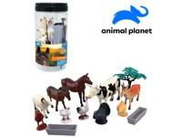 07531 - Zvířátka farma, mobilní aplikace pro zobrazení zvířátek, 13 ks, 15,7 cm