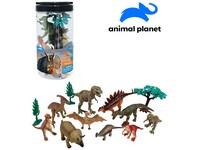 07532 - Zvířátka dinosauři, mobilní aplikace pro zobrazení zvířátek, 13 ks, 19,5 cm