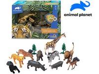 07533 - Zvířátka safari, 15 ks, mobilní aplikace pro zobrazení zvířátek, 15,8 cm