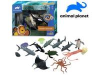 07534 - Zvířátka mořská, 15 ks, mobilní aplikace pro zobrazení zvířátek, 16,2 cm
