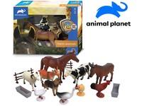 07536 - Zvířátka farma, 15 ks, mobilní aplikace pro zobrazení zvířátek, 18,4 cm