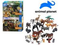 07538 - Zvířátka - safari, farma, 30 ks, mobilní aplikace pro zobrazení zvířátek, 18,4 cm