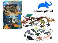 07539 - Zvířátka - dinosauři, mořská,   30 ks, mobilní aplikace pro zobrazení zvířátek, 20,4 cm