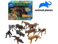 07540 - Zvířátka - safari, 10 ks, mobilní aplikace pro zobrazení zvířátek, 11 cm