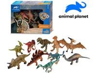 07542 - Zvířátka - dinosauři, 10 ks, mobilní aplikace pro zobrazení zvířátek, 12,5 cm
