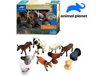 07543 - Zvířátka - farma, 10 ks, mobilní aplikace pro zobrazení zvířátek, 12,5 cm