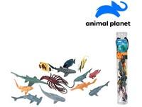 07547 - Zvířátka v tubě - mořská, 5 - 12 cm, mobilní aplikace pro zobrazení zvířátek, 13 ks