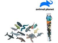 07548 - Zvířátka v tubě - mořská, 5 - 12  cm, mobilní aplikace pro zobrazení zvířátek, 13 ks