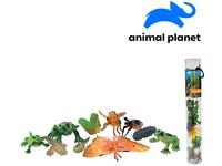 07557 - Zvířátka v tubě - měnící se, 4 - 8 cm, mobilní aplikace pro zobrazení zvířátek, 10 ks