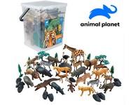 07558 - Zvířátka v kbelíku - džungle,  45 pcs, mobilní aplikace pro zobrazení zvířátek, 20 cm