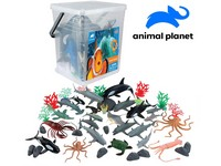 07559 - Zvířátka v kbelíku - mořská,  45 pcs, mobilní aplikace pro zobrazení zvířátek, 24 cm