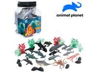 07563 - Zvířátka v dóze - mořská, 30 ks, mobilní aplikace pro zobrazení zvířátek, 20,1 cm