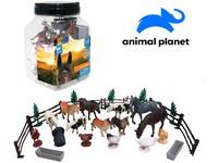 07564 - Zvířátka v dóze - farma, 30 ks, mobilní aplikace pro zobrazení zvířátek, 16,4 cm