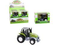 07630 - Traktor, zpětný chod, kovový, 9 cm