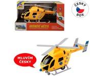 07635 - Vrtulník záchranný na setrvačník se světlem a zvukem
