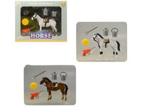 07671 - Kůň s příslušenstvím, 29 x 23 x 6 cm