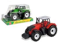 07756 - Traktor, na setrvačník, 10x20x9cm