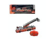 07799 - Auto hasičské se žebříkem,  na dálkové ovládání, 4-kanál, 7x27x6cm