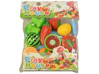 07957 - Souprava ovoce a zelenina  s prkénkem