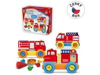 08302 - Malý mechanik plastový Junior - hasiči