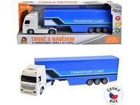08431 - Kamion přepravní na setrvačník, 33 x 5,5  x 8,5 cm