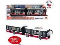 09023 - Autobus na setrvačník 44 cm, mluví česky, hlásí zastávky, CZ design