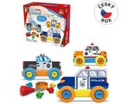 08420 - Malý mechanik plastový Junior - policie