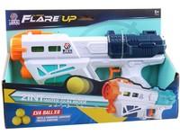 09877 - Pistole s míčky a na vodu, 30 cm