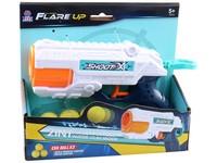 09878 - Pistole s míčky a na vodu, 20 cm