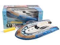 10005 - Nafukovací člun s pumpičkou, na baterie, 20,5 cm