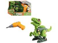 10388 - Dinosaurus ke šroubování, na baterie, 20 cm