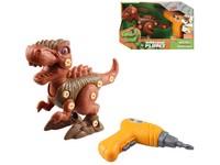 10389 - Dinosaurus ke šroubování, na baterie, 17 cm