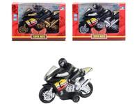 10441 - Motorka s jezdcem  na setrvačník,  17cm