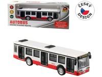 10646 - Autobus kovový na zpětný chod, 16cm