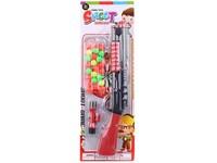 10771 - Pistole  s míčky,  41 cm