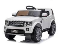 10839 - Dětské elektrické auto, 12V, Land Rover, na dálkové ovládání, dva motory