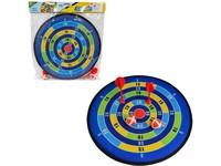 11973 - Terč se 2 šipkami a 2 míčky na suchý zip